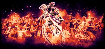 2015 Fort WIlliam MTB World Cup Banner,