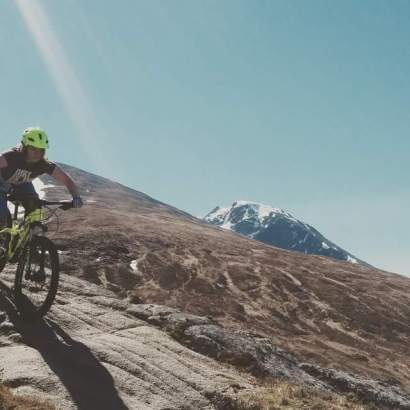 Handling Like a Dream on the Red DH @ Nevis Range