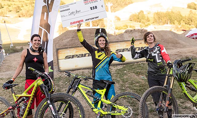 2014 Queen of Crankworx Casey Brown takes the Whip-off win!