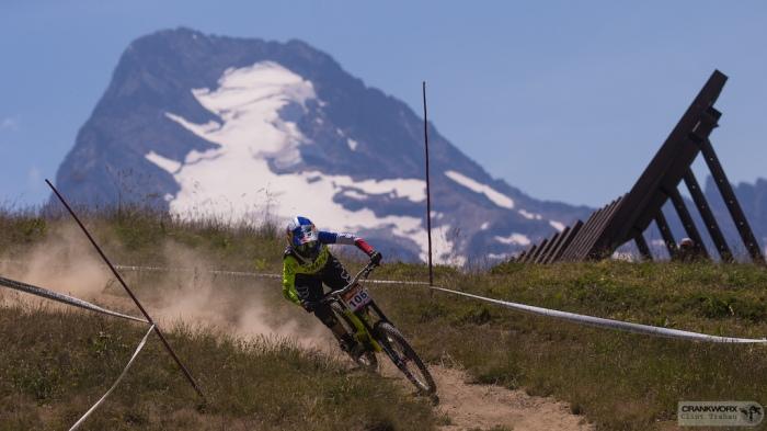 Myriam Nicole Pinning It @ Crankworx Les 2 Alpes Downhill presented by iXS(Photo by clint trahan/crankworx)