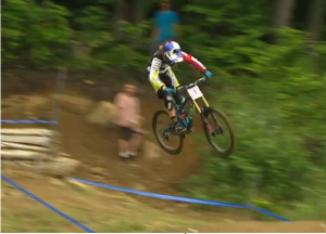 Atherton Looking pinned on her way to her 4th victory of the season!